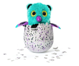 Hatchimals Glittering Garden Bearakeet Kids Toy Collectible Black Purple... - $58.40