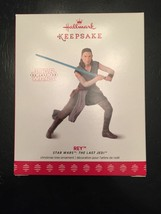 Rey BRAND NEW Hallmark Keepsake 2017 Star Wars Last Jedi Christmas Ornam... - $7.57