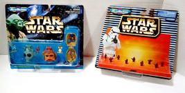 Star Wars Galoob MicroMachines Heads Collection II Greedo Nien Nunb Raider Jawas - $23.21