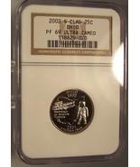 2002-S Clad Proof Ohio Statehood Quarter NGC PF 69 UC #G057 - $11.99