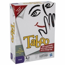 Taboo Game by Hasbro Unspeakably Cards, & Game Changing die & Taboo Buzz... - $49.45