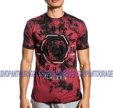 American Fighter Lowden FM8487 Short Sleeve Graphic T-shirt Top By Affliction - $35.95