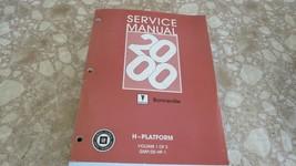 2000 Pontiac Bonneville H Platform Vol. 1 of 2 Service Shop Factory OEM ... - $17.54
