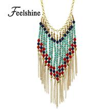 Perfeel Bohemian Style Long Gold-Color Chain - $8.95+