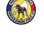 Nt denis 93 unit  cynophile ucd 856 french national police k 9 3.75 x 3.75 in 9.99 thumb155 crop