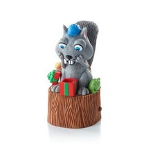 Nuttin' for Christmas - 2013 Hallmark Ornament - Squirrel Nut Present Tr... - $9.88