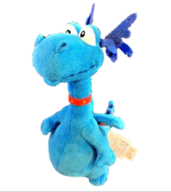 Disney Doc McStuffins Dragon Blue Stuffy Animal Figures Soft Plush Toy H... - $7.91