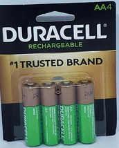 Rechargeable Nimh Batteries With Duralock Power Preserve Technology, Aa, 4/pack - $13.08