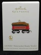 Hallmark Keepsake Lionel Nutcracker Route Tender 2012 Ornament NIB - $8.90