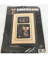 VINTAGE 1996 Dimensions Counted Cross Stitch #3831 Sow Kindness Reap Fri... - $17.75