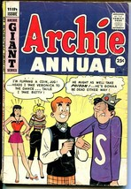Archie Annual #11 1959-Betty-Veronica-Giant Issue-G - $27.74