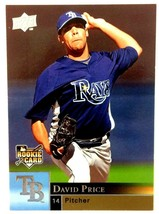 David Price 2009 Upper Deck Rookie Card #401 Rays Dodgers Red Sox Tigers - $2.92