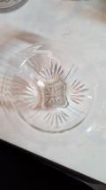 "Hazel Atlas Vintage Depression GLASS/CLEAR 8"" Mixing Bowl Rolled RIM/SQUARE Foot - $9.80"