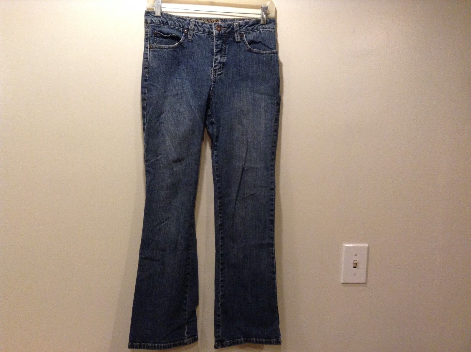 St John's Bay Ladies Boot Cut Denim Jeans Sz 4P