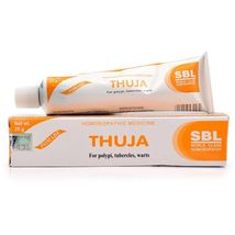 SBL Thuja Homeopathic Cream 25 gm Ointment For Polypi Warts Tubercles - $4.80