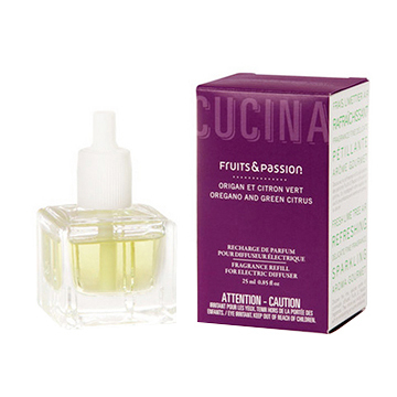 Cucina Oregano & Green Citrus Electric Fragrance Diffuser Refill 0.85oz