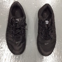 Nike Free Trainer Running Shoes Mens Size 9 Black White - $31.68