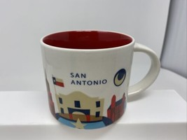 Starbucks Coffee SAN ANTONIO 14oz Mug 2017 You Are Here City Collector S... - $19.79