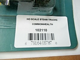 Rapido # 102110 Commonwealth Steam with Wheel Pickups Trucks, 1 Pair HO Scale image 2