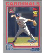 Bo Hart ~ 2004 Topps Opening Day #7 ~ Cardinals - $0.20
