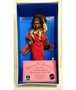 1994 Mattel Barbie 35th Anniversary Festival Red Velvet Delight Haute Co... - $699.99