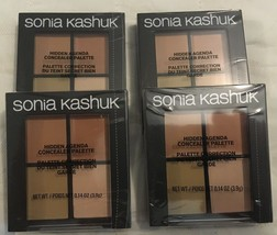 4 - Sonia Kashuk Hidden Agenda II Concealer Palette Medium 08 Makeup 4 P... - $19.28