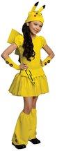 Pokemon Girl Pikachu Costume Dress, Small - $30.06