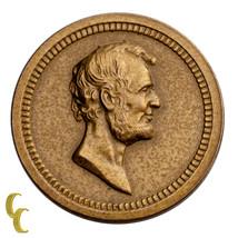 1868 Washington/Lincoln Bronze Medalette (UNC) Uncirculated Condition - $193.05