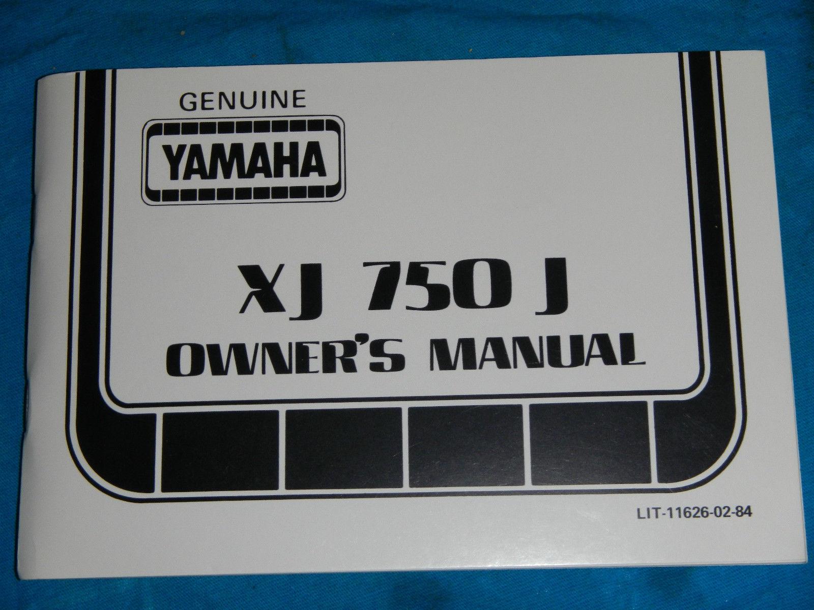 1982 82 YAMAHA XJ750 XJ 750 MAXIM SHOP SERVICE REPAIR MANUAL