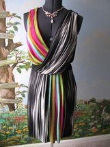 Maggy London Stripped Sleeveless Cocktail Dress SZ 4 NWT - $65.48