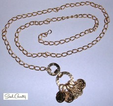 Vintage Sarah Coventry  Jewelry - #8252  Fashion Fortune Neckace - $14.16