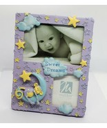 "Malden International Designs Sweet Dreams Baby 4""x 6"" Photo Picture Frame PURPLE - $12.95"