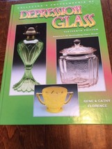 2004 Collector's Encyclopedia of Depression Glass Hardback  Florence 16t... - $16.07