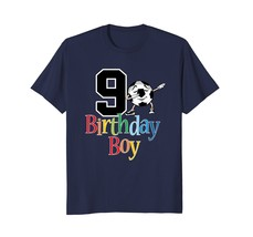 9th Birthday Soccer Shirt - 9 Dabbing Ball Boys Tees - $17.99+