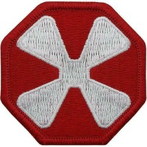 GENUINE U.S. ARMY PATCH: EIGHTH ARMY - COLOR - PAIR - $13.84