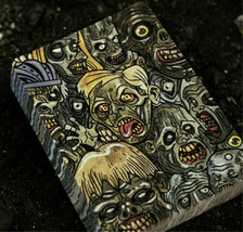 Poker Blackjack--ZOMBIES PLAYING CARDS DECK--Creepy Bicycle Novelty Part... - $9.87