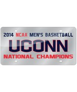 NCAA Rico Tag Express Connecticut UConn Huskies Acrylic Laser Tag Licens... - $18.95