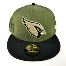 Arizona Cardinals Salute To Service New Era 59FIFTY Fitted Hat Size 7 5/... - $29.99