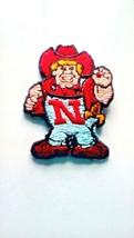 Nebraska Cornhuskers NCAA Vintage Iron On 1974-2003 Mascot Logo Patch - $5.88