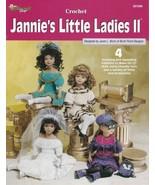 Jannie's Little Ladies II Crochet Wedding Dress Rocker Sunday Best Fanta... - $15.79