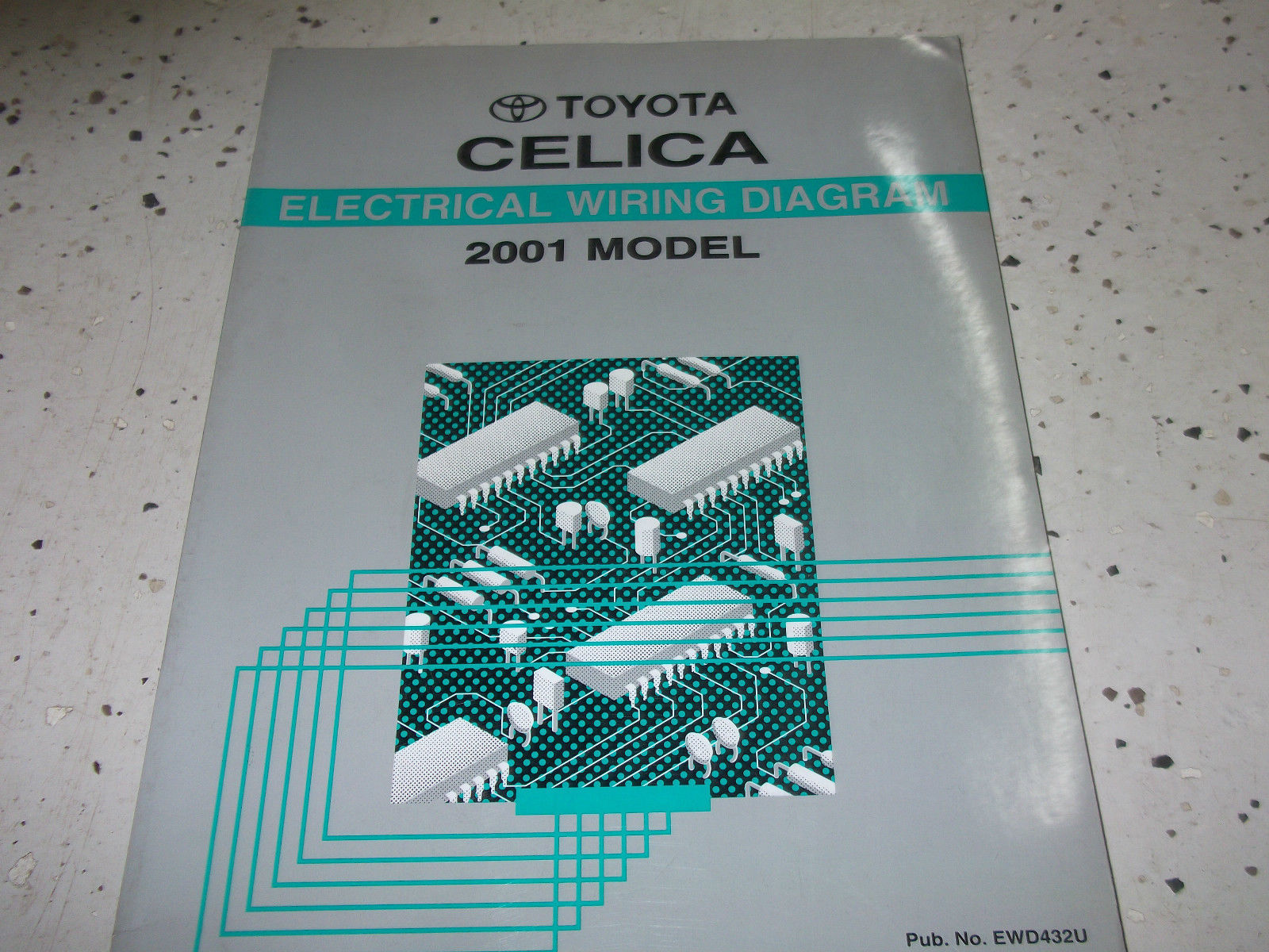 Toyota Manual 929 Listings Honda Wiring Diagram Electrical 2001 Celica Service Shop Repair Ewd New 9899