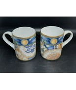 Royal Doulton Millennium coffee mugs 2000 released perfect condition 3.7... - $30.00