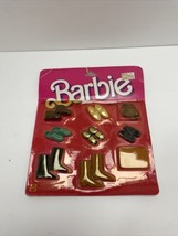 Mattel Barbie shoes handbags Finishing Touches 1984 No. 2459 New Sealed - $14.84