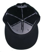 Dissizit! Smoke Bowls Skateboard D Bones Ramp Black Snapback Baseball Hat NWT image 7