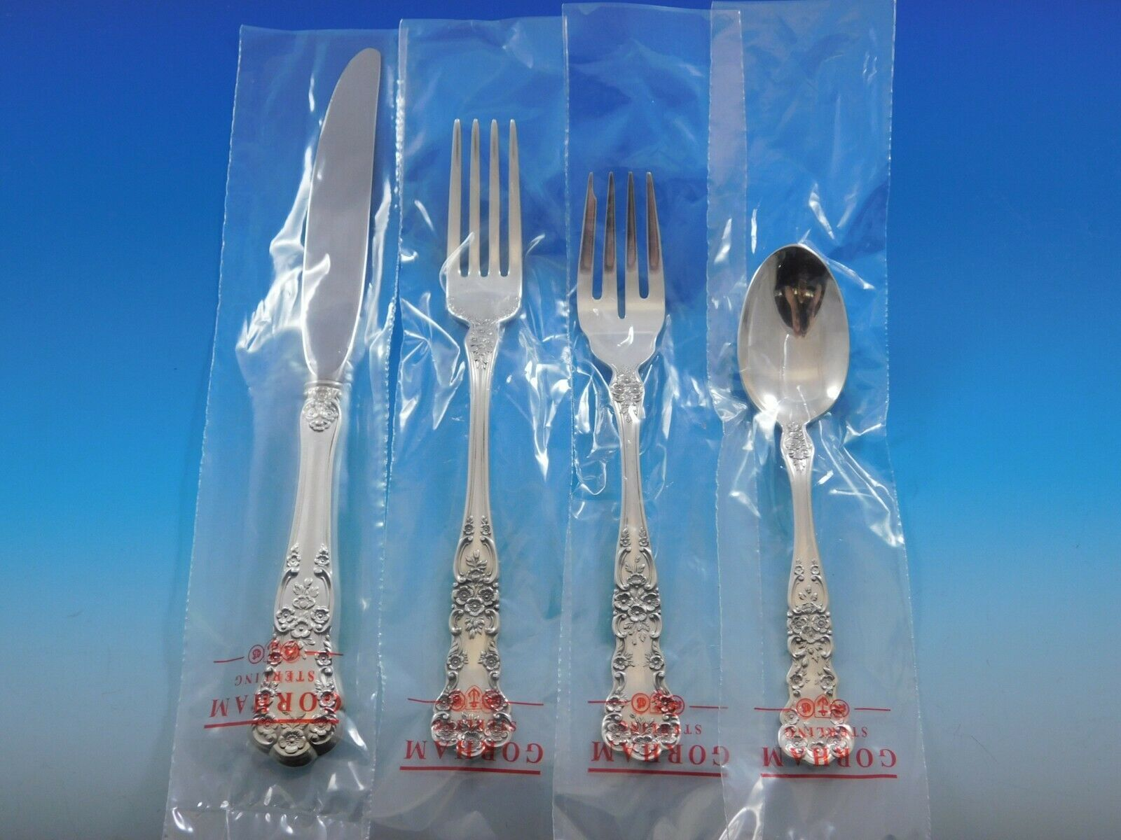 Primary image for Buttercup by Gorham Sterling Silver Flatware Service Set 32 pcs Place Size New