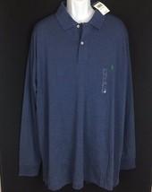 Polo Ralph Lauren Long Sleeve Polo Shirt Big & Tall 3XLT 4XB 4XLT Blue - $44.99