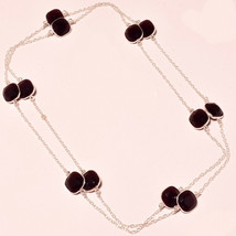 """Pink Amethyst Faceted Handmade Fashion Ethnic Jewelry Necklace 36"""" US-103 - $7.24"""