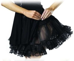 Lace Petticoat (Black) Child Accessory - $10.88