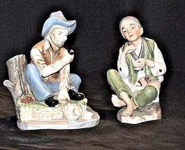 Lady - Gentlemen Figurines AA18 - 1053 Pair of Vintage image 2