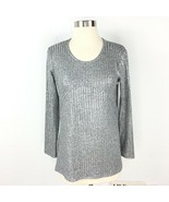 Total Girl Sweater Sweater Gray Girl Size L 14.5 - 16.5 Plus - $16.06